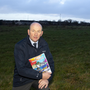 Cllr John Fleming at the site in Butlersland in New Ross which has planning for two advance factories