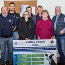 At the Agri AIM course held in Ballycullane (from left): James Power, Philip Kehoe, Hazelle Neville, Justin Egan, Thomas Kinsella, Kathleen Kinsella and Jim Foran (tutor)