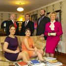 Back:Peter O'Connor, Nicky Flynn, Shane McDonald. Front: Bríd Moloney, Seona O'Connor and Margaret Rossiter