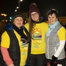 Miriam Murphy, Ailish and Alice Doyle, St Mullins at Darkness Into Light in Inistioge