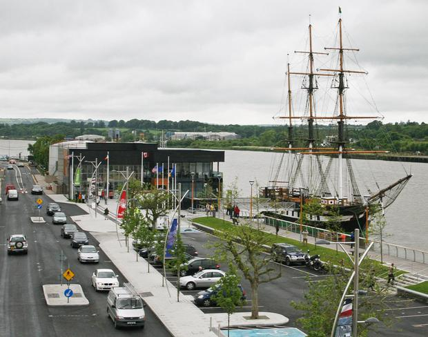 A changing New Ross famous for the Dunbrody visitor centre and JFK, with the bypass due to open later this year