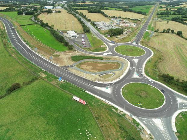 A view of the new N30 Enniscorthy Bypass from Scarwalshe to Templescoby. Picture credit: Skypix