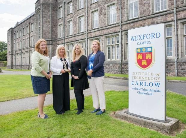 Sarah Jane Doyle, Lifelong Learning Administrator; Dr. Janette Davies, Deputy Head of Campus; Joanne Kenny, Lifelong Learning Administrator; and Dr. Karen Hennessy, Head of Campus