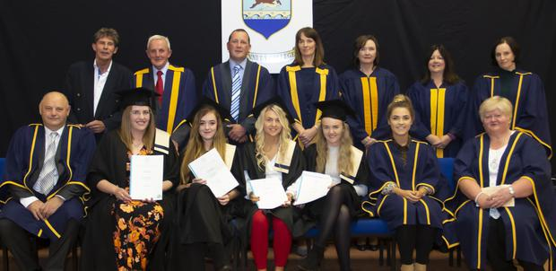 Recipients of the Office Administration Level 5 certificates