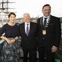 Orla Carroll, Failte Ireland; Minister Michael Ring and Cllr Michael Sheehan, cathaoirleach, Wexford County Council