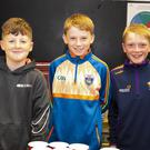 Khyde Morrin, New Ross, Cormac Martin, Cushinstown and Kieran Roberts, Old Ross