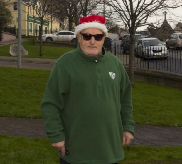 Aidan Power said: 'We don't have a Christmas here in Irishtown.'