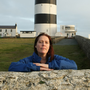 Interim lighthouse manager Lorraine Waters at Hook Head