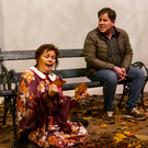 Nancy Rochford Flynn and Edward Hayden performing in 'Notes on Falling Leaves'