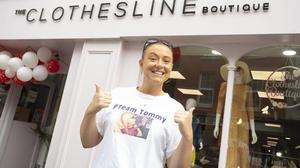 Nóirín Kinsella is holding a fashion show at her boutique on Sunday as part of the fundraiser