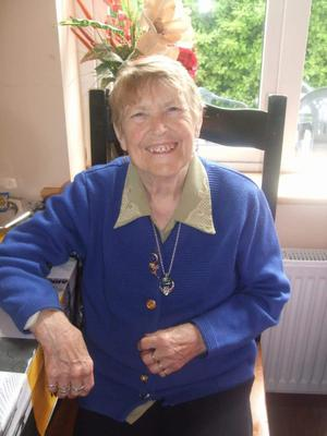 The late Mary 'Maisie' Whitty