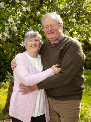 3/5/2020 Frances and Jimmy Grangel celebrated their 55th wedding anniversary at home in the Bawnmore, New Ross. Photo; Mary Browne