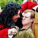 An outdoor theatre production of Peter Pan thrilled at the weekend