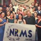 Members of the New Ross Musical Society at the AIMS awards in Killarney recently