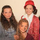 Roisin Dillon, Holly Hewson, Nicola Dobbs and Eva Greene performing in 'The Girl On The Ledge' a Rathnure panto production at the Presentation Centre