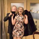 Pat Kavanagh as Harry McMichael and Brid Maloney as Sue Lawson