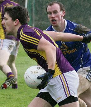 Adrian Flynn was one of eight Wexford players to score from play but it ultimately proved fruitless.