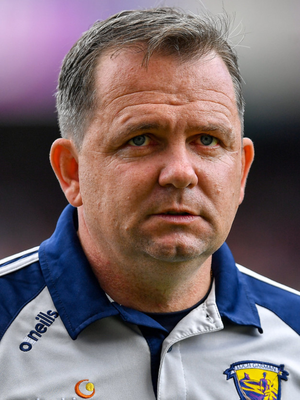 28 July 2019; Wexford manager Davy Fitzgerald prior to the GAA Hurling All-Ireland Senior Championship Semi Final match between Wexford and Tipperary at Croke Park in Dublin. Photo by Brendan Moran/Sportsfile