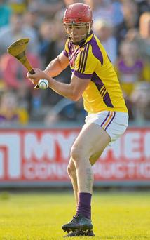 8 June 2013; Lee Chin, Wexford. Leinster GAA Hurling Senior Championship Quarter-Final, Wexford v Dublin, Wexford Park, Wexford. Picture credit: Matt Browne / SPORTSFILE