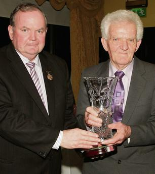 Wexford GAA District Club Awards in The Riverbank House Hotel on Saturday night