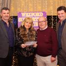 Launch of the Glen Fuels/Wexford GAA Supporters Club annual Awards Night in the Riverside Park Hotel; pro, Maria Nolan Wexford GAA Suporters Club chairman, Arthur Quinn pictured with sponsors, Alan and Kevin Keys (Glen Fuels).