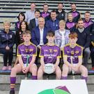 Front (from left): Ben Hynes, Glen Murphy-Butler, Josh Sheil. Second row (from left): Angela McCormack, Carol Daly, Anthony Neville, Margaret Doyle, Brian Malone, Eoin Morrissey. Third row (from left): Marion Doyle, Micheál Mahon, Dermot Howlin, Aoife Murphy, Alan Monahan. Back (from left): Derek Kent, Peter Hally, Diarmuid Byrne, Shane O'Hanlon