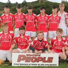 The successful squad from Moguegeen Gaels, the Fethard and Clongeen combination