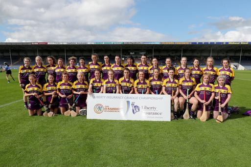 The Wexford squad before Saturday's crushing quarter-final defeat to Dublin in Semple Stadium