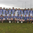 The Good Counsel squad before Tuesday's South Leinster Junior football'A' championship final in Páirc Uí Bhríain, Carlow