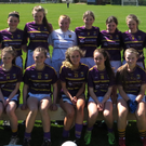 The Wexford Under-14 squad before Saturday's Leinster final defeat in Conneef Park, Clane