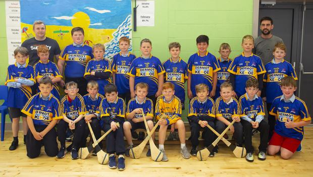 The Bunscoil Rís boys from New Ross who contested the Rackard League Rising Stars final