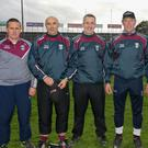 St. Martin's mentors Barry Keane, John O'Connor, Ian Mernagh, Tomás Codd and Charlie Carter