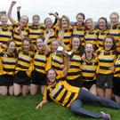 The Minor team of 2016 celebrate after winning the club's sixth Premier championship title in the space of seven years