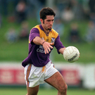 Scott Doran of Wexford in action for the Wexford Senior footballers against Carlow in the Leinster championship of 1996
