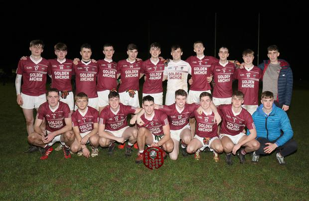 The victorious Castletown squad