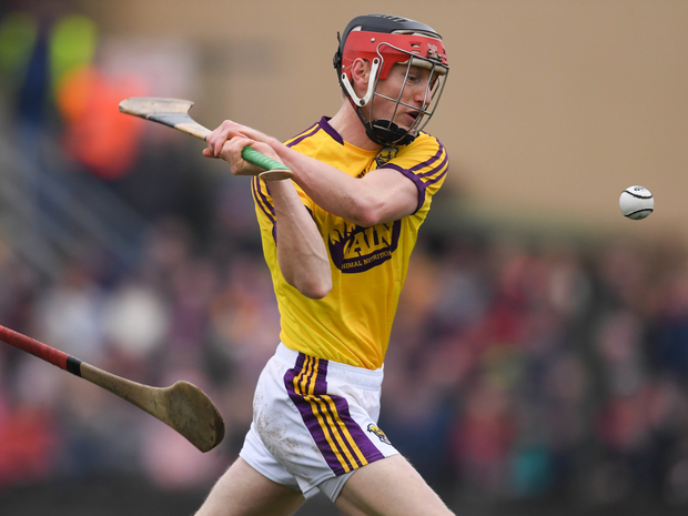 Diarmuid O'Keeffe in Walsh Cup final action earlier in the year against Galway, who will be our championship opponents on May 26
