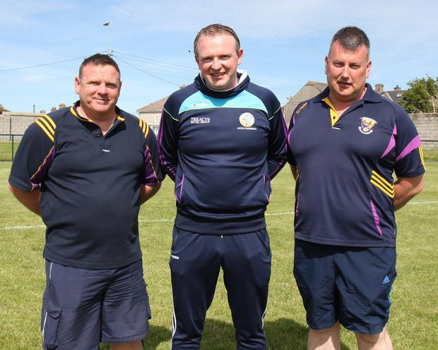 Wexford mentors Mick Curran, Barry Kennedy and Mick Kinsella got their first win of the year.