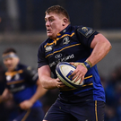 Tadhg Furlong in action for Leinster against the Exeter Chiefs at the Aviva Stadium