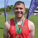 Pádraig Hore of New Ross C.B.S. won gold and bronze medals