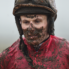 Jockey Seán Flanagan who enjoyed a treble in Galway, two for Colin Bowe. Photo by David Fitzgerald/Sportsfile