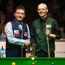 Jimmy White and Rodney Goggins