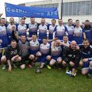 Cushinstown celebrate after winning the Billy Browne Cup