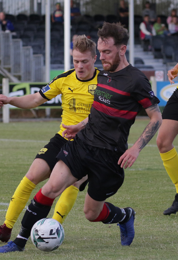Danny Furlong accounted for two poacher's goals early in the second-half in Tolka Park on Friday
