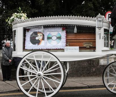 Funeral from Bride Street Church to Ferrybank