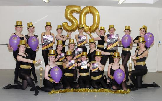 Wexford School of Ballet and Performing Arts ready for the 50th anniversary show REPRISE.