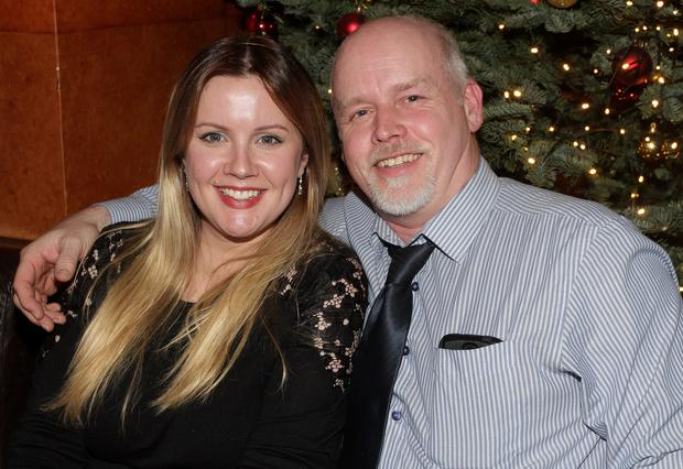 At the Wexford Marinewatch Christmas party in The Riverbank House Hotel on Saturday night were Colette and David Murphy