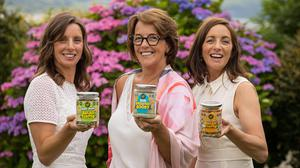Michelle Butler, co-founder of Good4U (centre) with the new product.