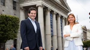 Pictured above are Gavin Kelly, CEO of Bank of Ireland Retail and Debbie Byrne, Managing Director of An Post Retail who have announced the new partnership between the institutions.