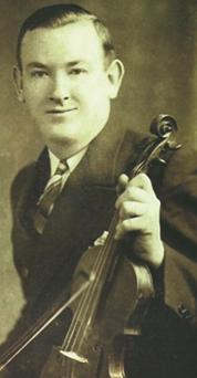 Legendary fiddle player Paddy Killoran.