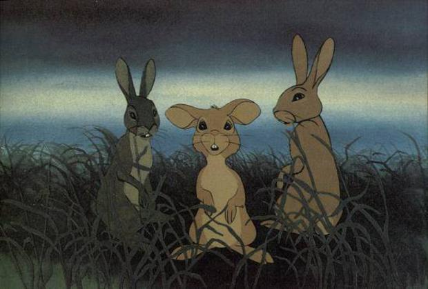 A scene from Watership Down